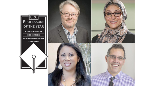 U.S. Professors of the Year Award Winners Announced