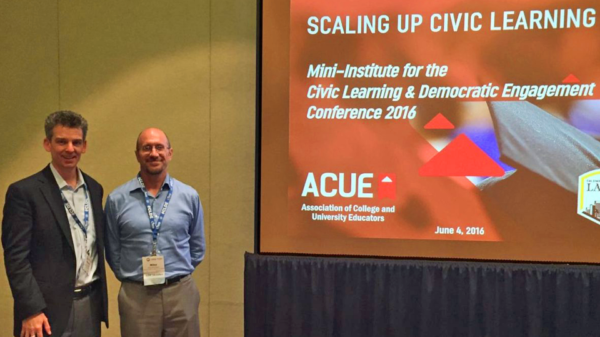 Helping Faculty Scale up Civic Learning